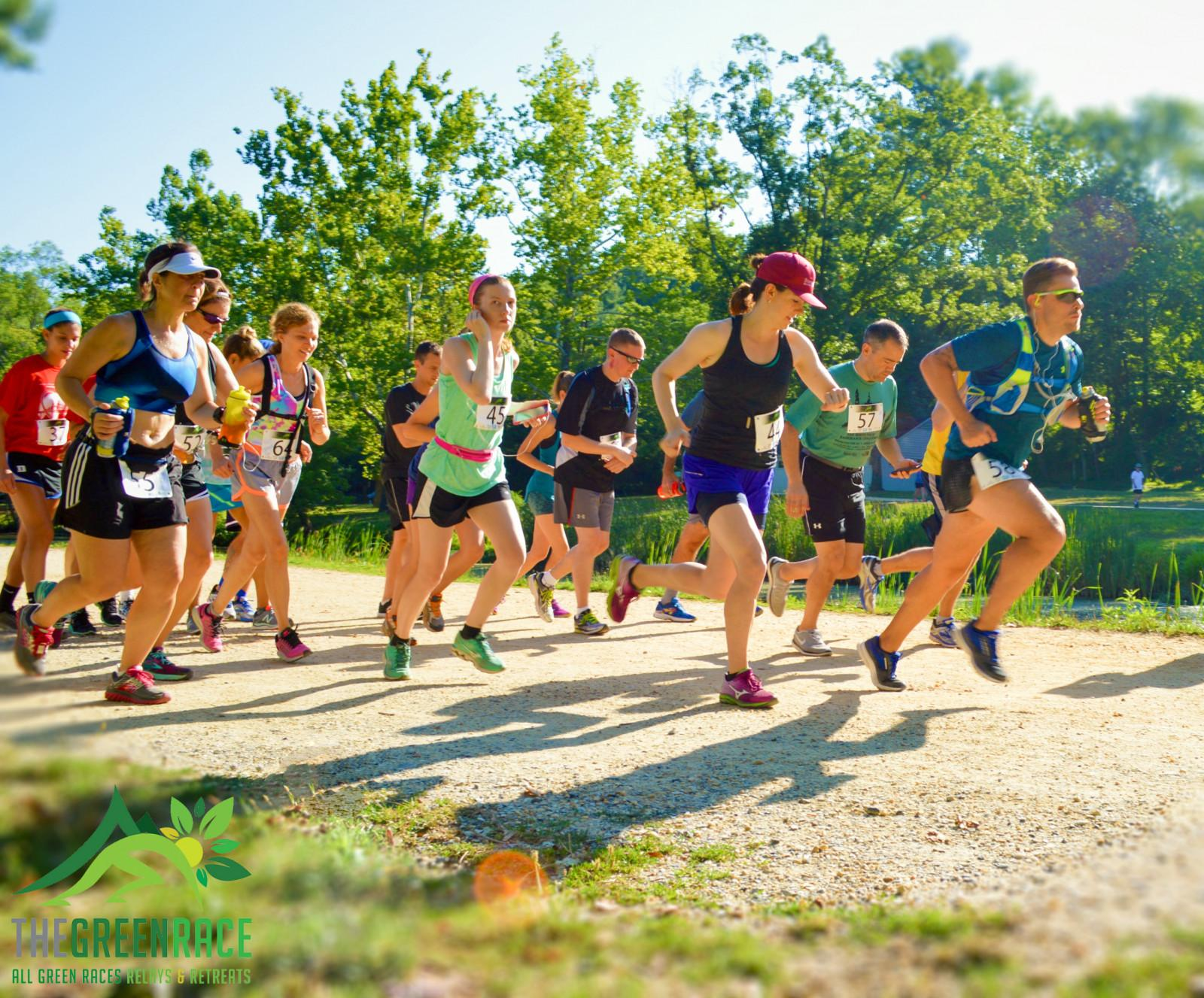 2016 Maryland GreenRace C&O Towpath 5K/10K Start Line Photo