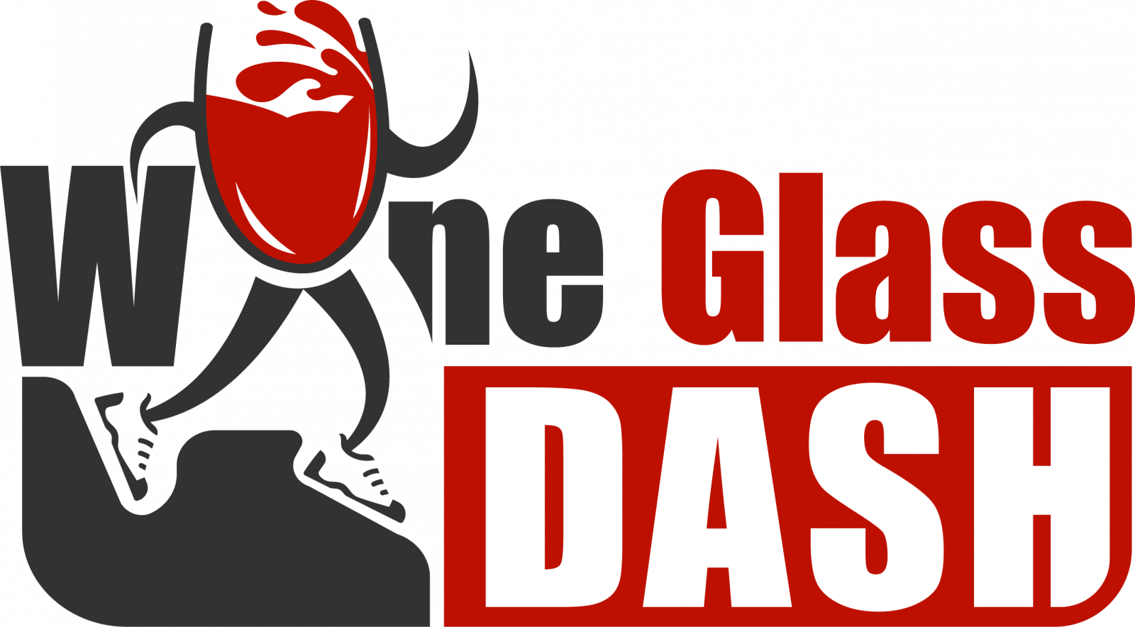 Wine Glass Dash Logo