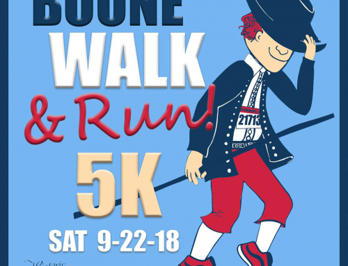 2018 'Boone' Walk & Run! 5K Results