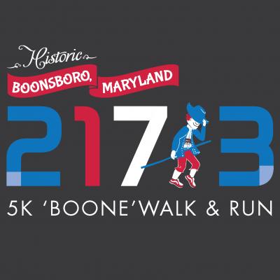 'Boone' Walk & Run Logo